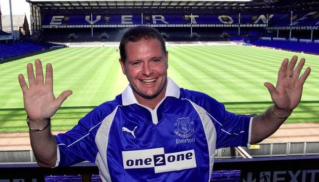 El exjugador de fútbol Paul Gascoigne.