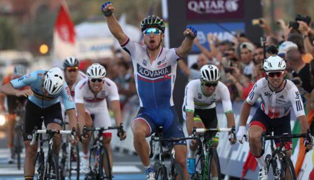 Peter Sagan, en los mundiales de Catar, este mismo año.