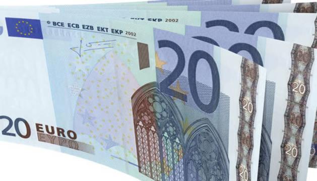 20 detenidos por distribuir billetes falsos de 20 y 50 euros en un piso de Villaverde