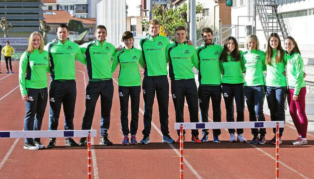 Atletas referentes para el Grupoempleo Pamplona Atlético.