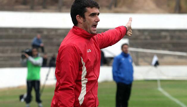 Sergio Amatriain, exentrenador del Tudelano.