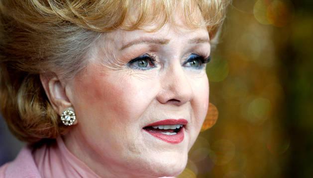 La actriz Debbie Reynolds.
