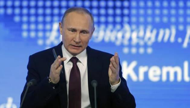 Putin anuncia un acuerdo de cese del fuego entre Damasco y la oposición siria
