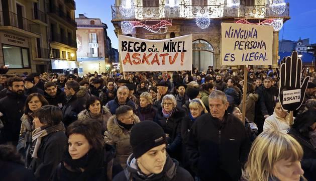 Concentración en apoyo a los activistas detenidos