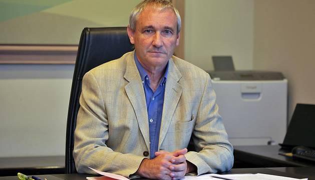 El consejero de Hacienda del Gobierno foral, Mikel Aramburu.