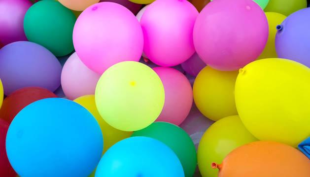Imagen de varios globos.