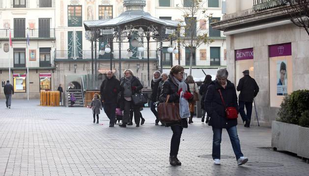 Tudela, en la imagen, es el municipio de Navarra que más habitantes ha perdido según el último padrón, un total de 218.