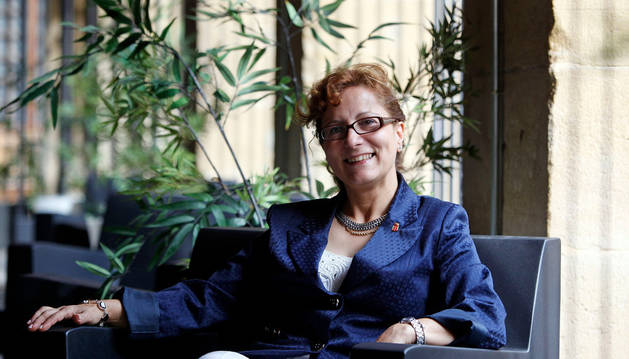 Elsa González, presidenta de la FAPE.