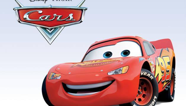 Imagen de la película de Disney, 'Cars'.