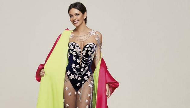 Cristina Pedroche, con el vestido de la gala