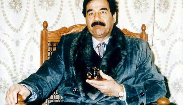 El exdictador iraquí Sadam Husein.