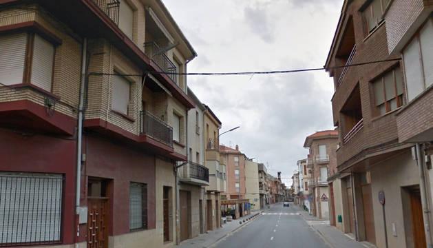El arresto tuvo lugar en un calle de San Adrián.