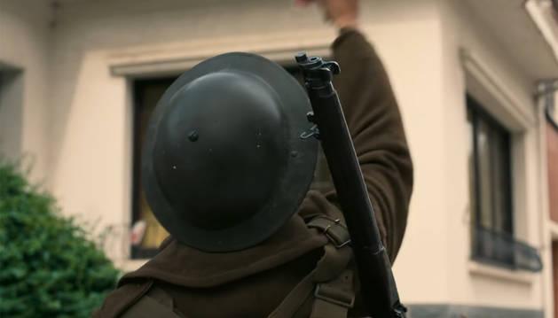 Un fotograma de 'Dunkerque', de Christopher Nolan.