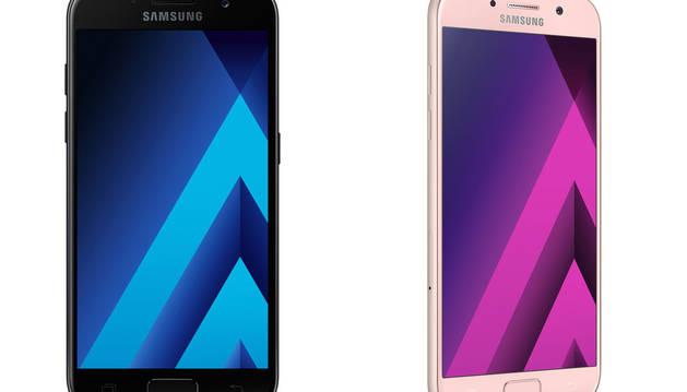 Los nuevos modelos de Samsung.