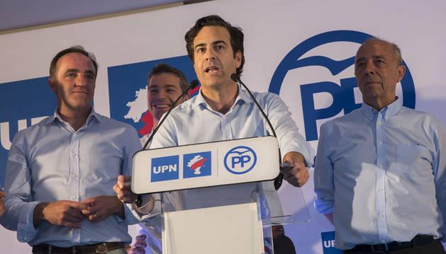 El presidente de la comisión gestora del PPN, Pablo Zalba