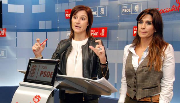 Foto de Nuria Medina y Marian Sainz.
