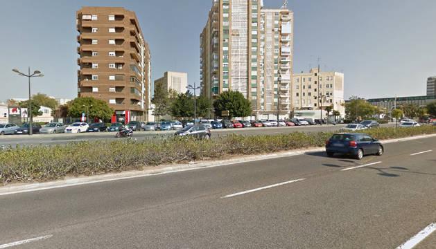 Avenida Pío XII de Valencia.