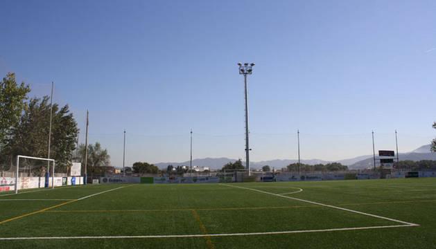 El campo de fútbol de la localidad