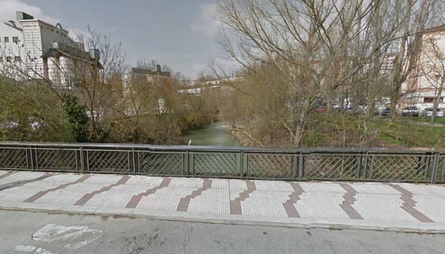 Río Elortz a su paso por Etxabakoitz.