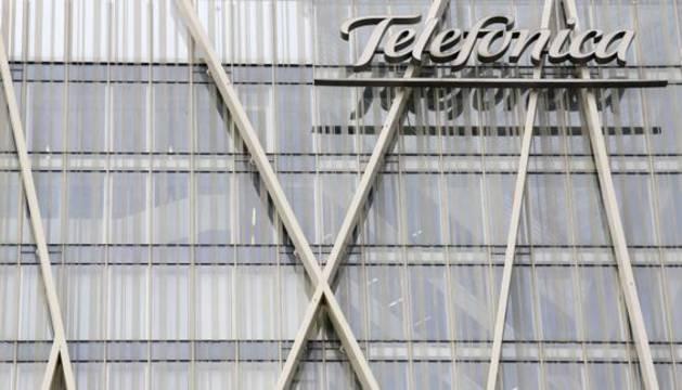 Sede de Telefónica en Barcelona.
