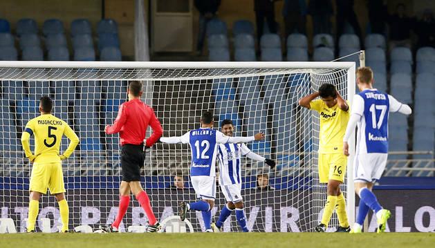 Trigueros da vida al Villarreal en la Copa (3-1)