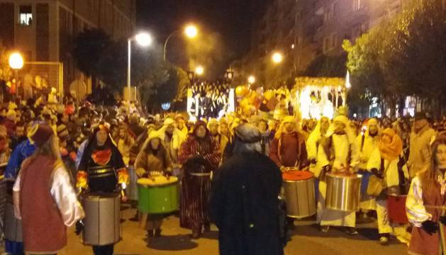 Cabalgata de los Reyes Magos en Pamplona (I)