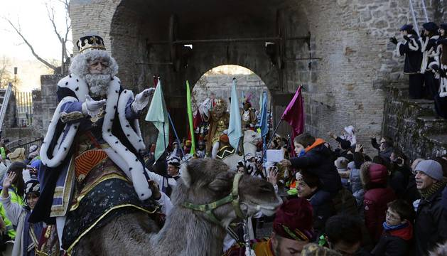 Llegada de los Reyes Magos a Pamplona (II)