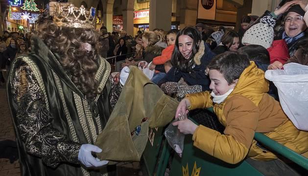Cabalgata de Reyes de Estella