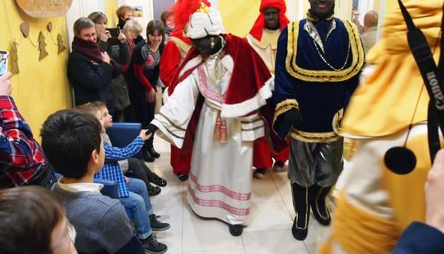 Cabalgata de Reyes en Sangüesa