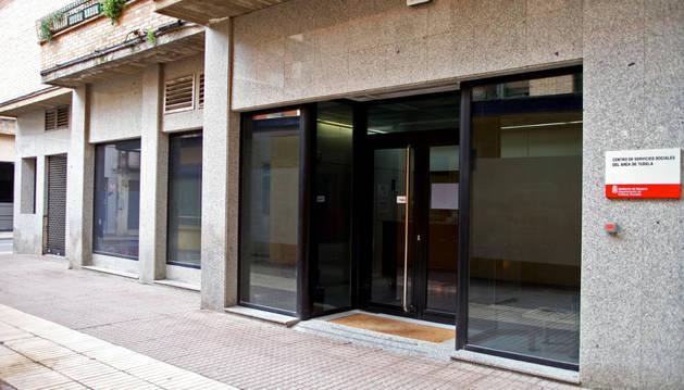 Foto del centro de Servicios Sociales de Tudela.