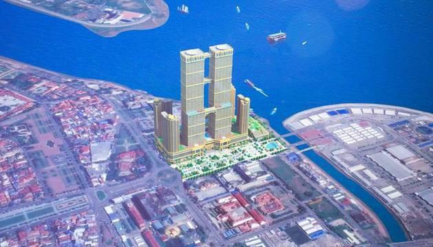 El proyecto está financiado por el gigante camboyano Thai Boon Roong Group.