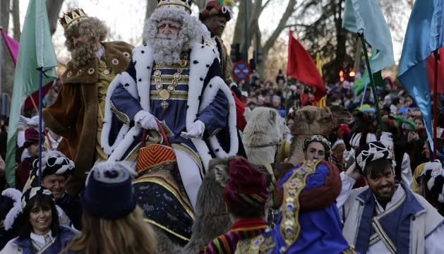 Cabalgata de los Reyes Magos en Pamplona (II)