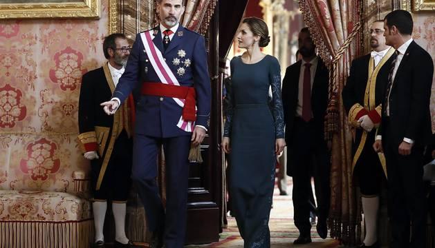 Pascua Militar en el Palacio Real