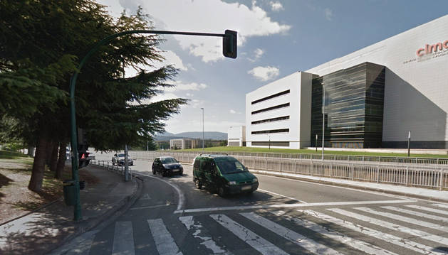 Foto de la Avenida de Navarra de Pamplona.