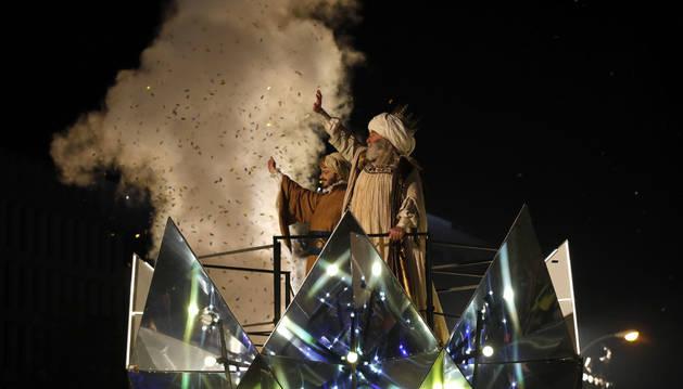 Imagen de la cabalgata de los Reyes Magos de Madrid.