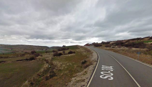 El fallecido ha sido hallado en una finca situada en el kilómetro 6 de la carretera local SO-382.