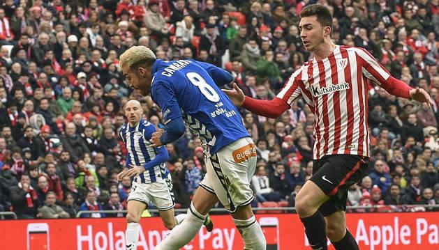 El poste evita que el Alavés asalte San Mamés (0-0)