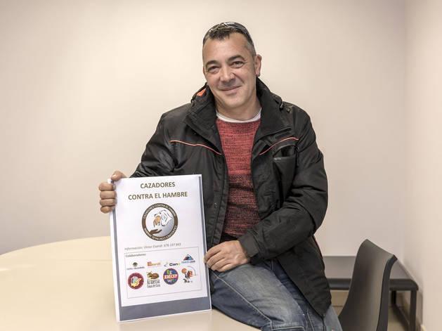 Víctor M. Esandi, de la ONG Cazadores contra el hambre.