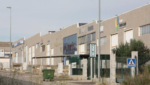 Imagen del polígono industrial Las Labradas de Tudela, donde se produjo la pelea.