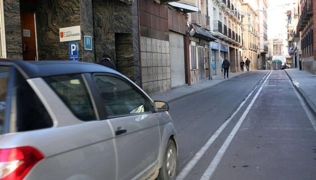 Golpea a una mujer en el rostro en la calle San Marcial de Tudela