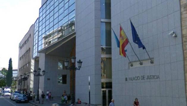 Palacio de Justicia de Oviedo.
