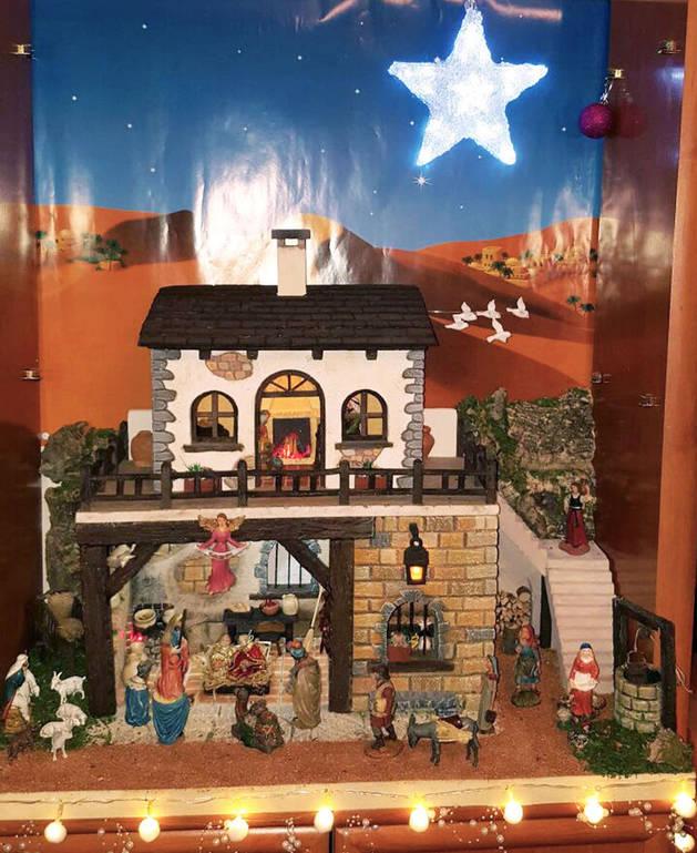 La obra ganadora, 'Pesebre navideño'