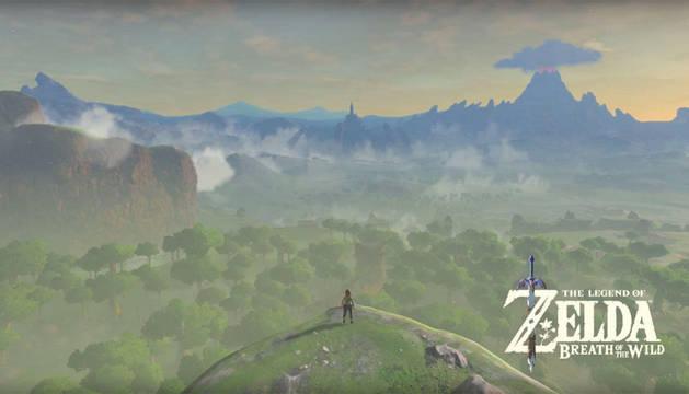 Imagen del videojuego Zelda: Breath of the Wild.