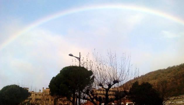 Menos lluvia en Navarra para este miércoles