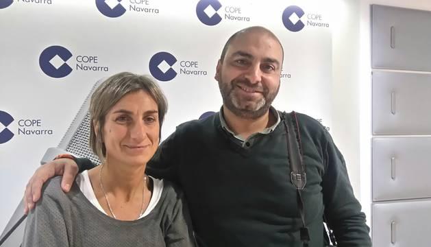 Los fotógrafos José Carlos Cordovilla (Diario de Navarra) y Villar López (EFE).