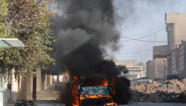 Las fuerzas de Irak se aproximan al bastión de Estado Islámico en Mosul
