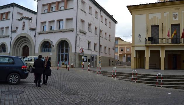 Plaza del Ayuntamiento de Lerín.
