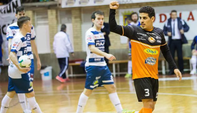 Hamza está siendo uno de los jugadores más destacados del Aspil.