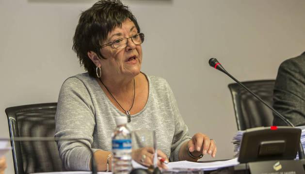 La consejera María José Beaumont.