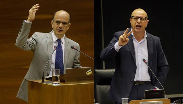 Foto de Alberto Catalán y Carlos Gimeno.